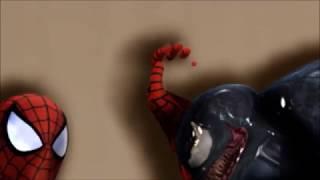 MarvelHeroes Spiderman and Venom Sexy AMV