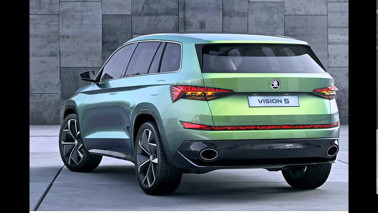 2016 skoda visions suv all new concept firstlook youtube. Black Bedroom Furniture Sets. Home Design Ideas