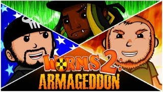 Super Best Friends Brawl - Worms 2: Armageddon