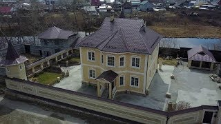 Облицовка фасада дагестанским ракушечником. Обзор 3 домов из натурального камня.