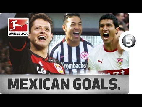Top 5 Goals - Mexican Players - Chicharito, Fabian and More…