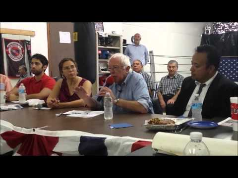 Bernie Sanders: Private prisons and Immigrant Detention mandate
