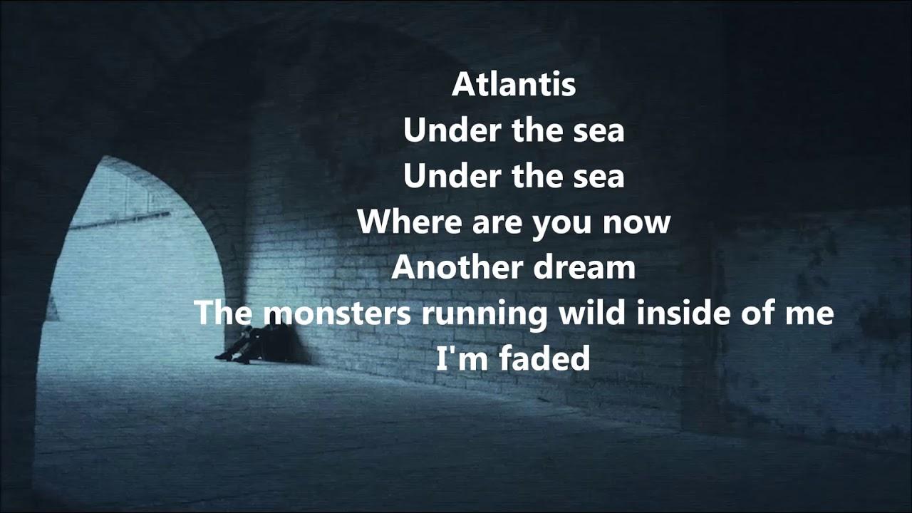 Alan Walker FADED lyrics on screen