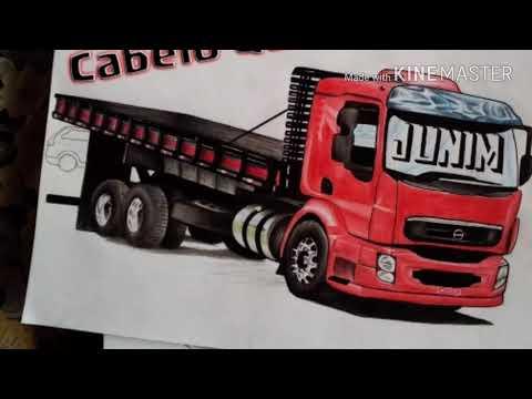 só desenho de caminhão top youtube