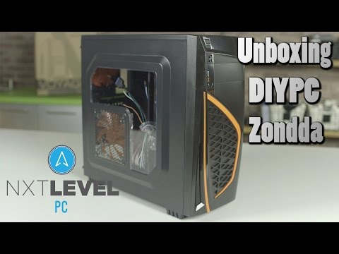 DIYPC Zondda PC Case Unboxing and Overview | NXT Level PC