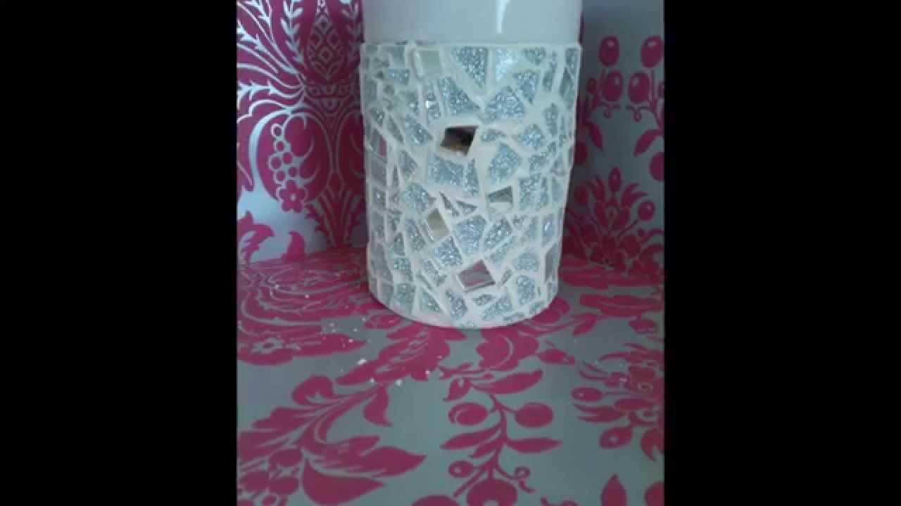 How to make a decorative mosaic vase youtube reviewsmspy