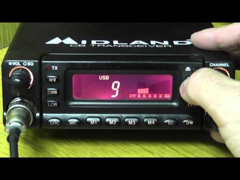 Midland 79-290 CB Radio AM SSB Review / Overview