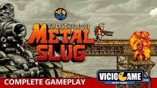 🎮 Metal Slug (Neo Geo) Complete Gameplay