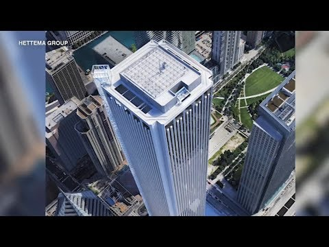 Proposed Aon Center Observatory Features Thrilling Elevator Ride