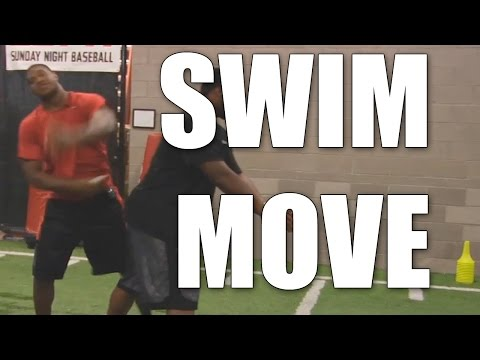 Calais Campbell : How to do the Swim Move