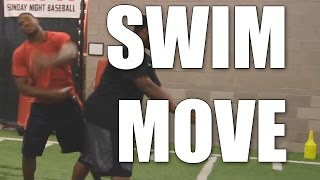 Calais Campbell : How to do the Swim Move
