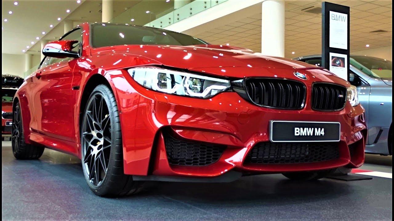 New 2019 Bmw M4 Coupe Competition Package Interior Exterior Sound M Car Sofia Bulgaria