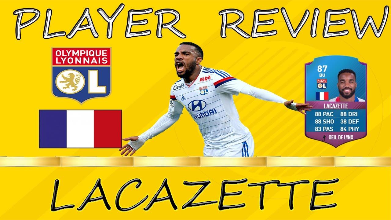 Lacazette Fifa 17