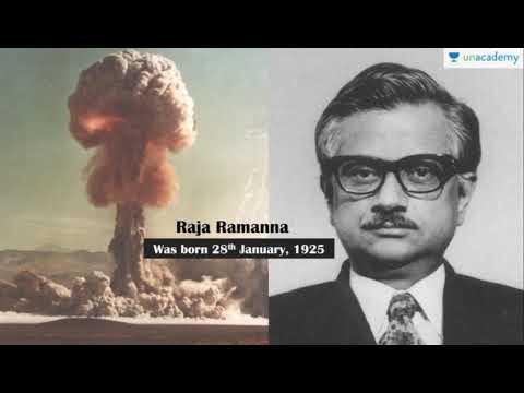 Dr. Raja Ramanna former Chairman, Atomic Energy Commission (AEC)