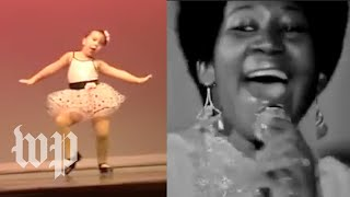 Pint-size tap dancer reflects on getting Aretha Franklin's 'Respect'
