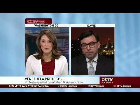 Venezuela Protests Reflect Left-Right Divide