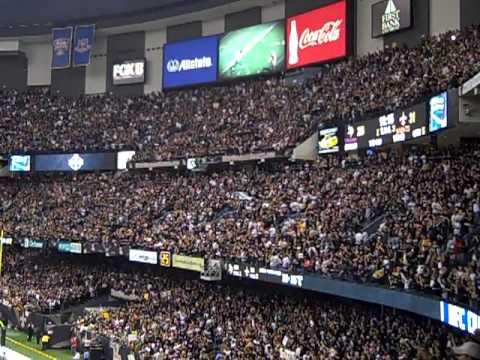 Super Dome Goes Nuts: Saints NFC Champions