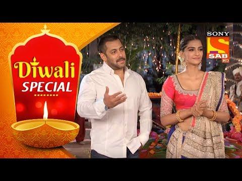 Diwali Special | Taarak Mehta Ka Ooltah Chashmah | Celebrate Diwali With Salman And Sonam