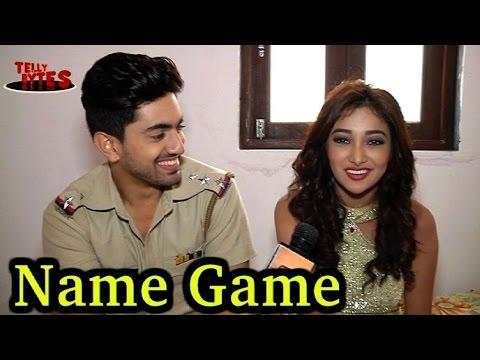 Name Game with Zain and Nalini aka Neil and Riya ! Naamkaran