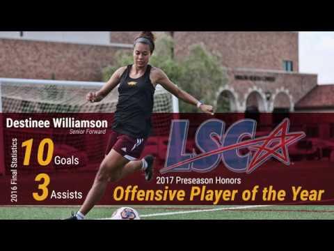 2017 LSC Preseason Offensive Player of the Year: Destinee Williamson