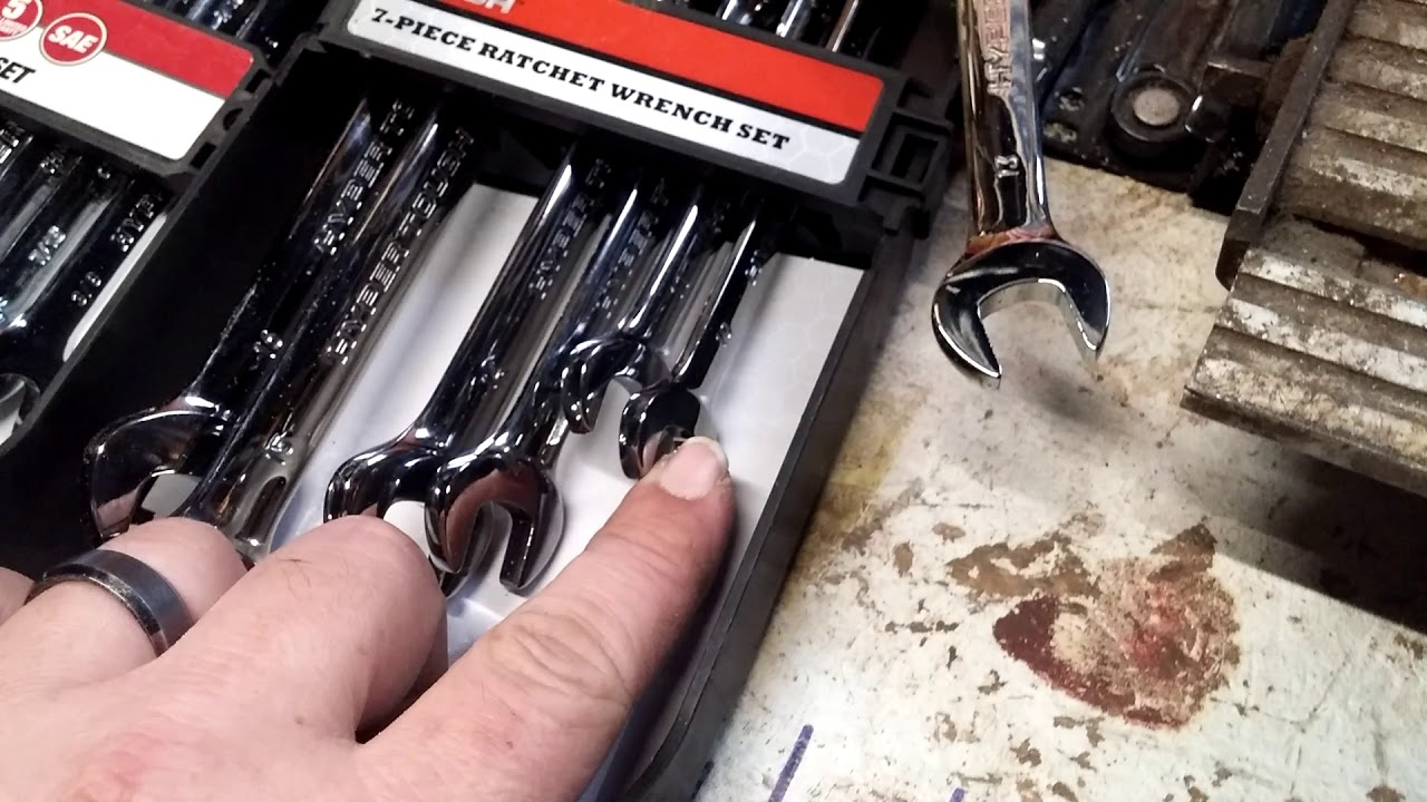 Metric SAE Hyper Tough Ratcheting Wrenches From Wal-Mart (tool review)  #BackwoodsHippieGarage