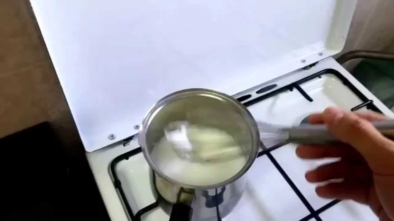 frothing milk on the stove top youtube. Black Bedroom Furniture Sets. Home Design Ideas