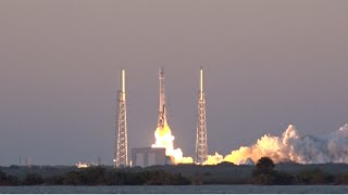 SpaceX DSCOVR - Launch footage and sound of Falcon 9 lofting DSCOVR into space !
