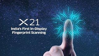 Vivo X21 | In Display Fingerprint Scanner