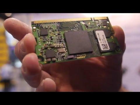 Toradex shows Freescale i.MX7, Windows 10 IoT Core on ARM