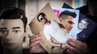 How To Cut 3 Mens Haircuts From GQ Magazine | Mens Haircut Tutorial | MATT BECK VLOG 62