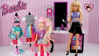 Barbie Jojo Siwa Kid in a Candy Store Doll Morning Routine