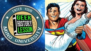 Greatest DC Comics Couples with Comic Pop!: Geek History Lesson