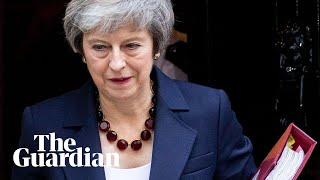 Theresa May makes statement on Brexit agreement – watch live