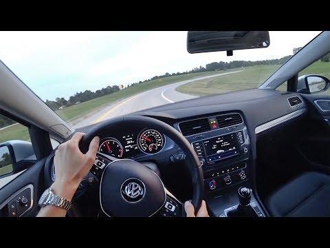 2017 Volkswagen Golf Alltrack TSI SE Manual Wagon - POV Driving Impressions (Binaural Audio)