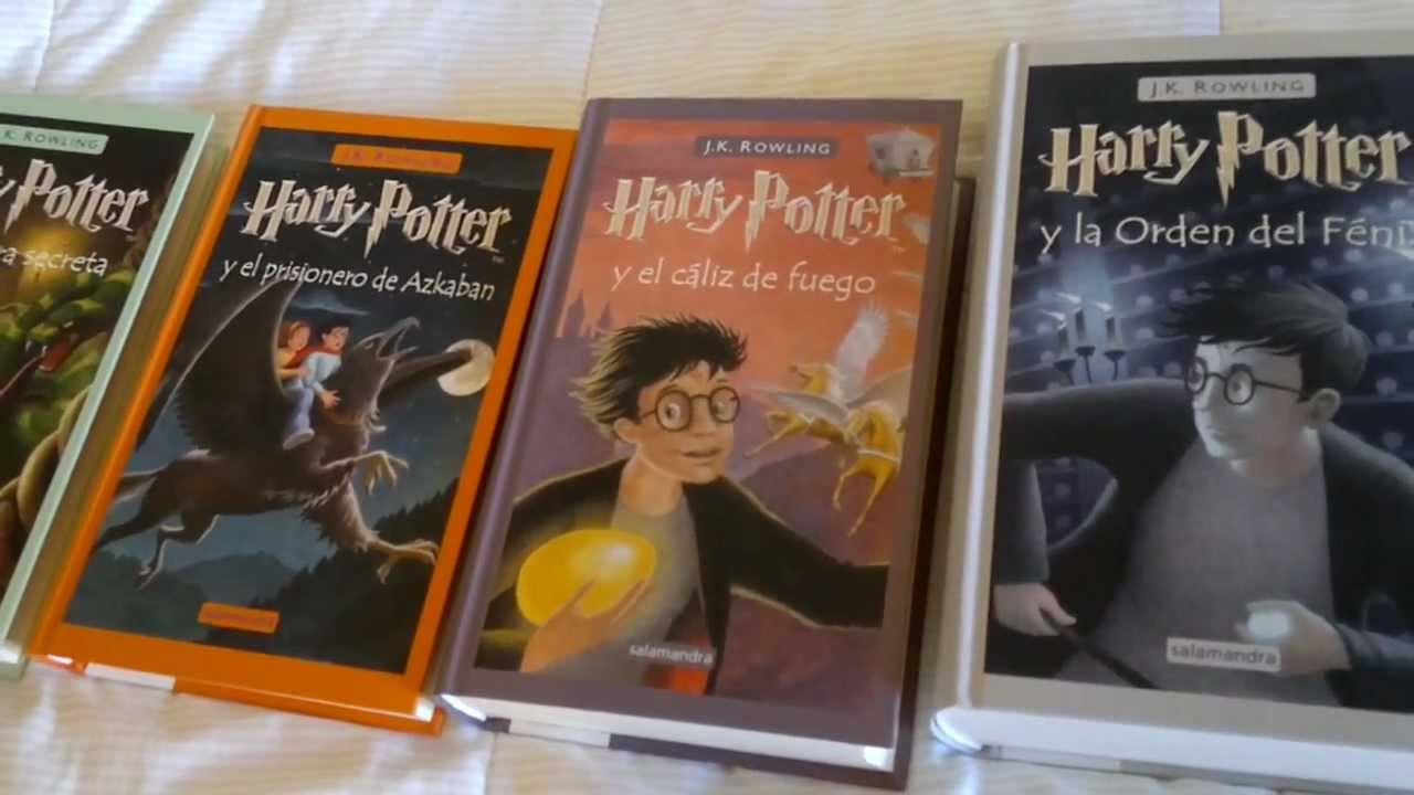 harry potter coleccion de libros pdf