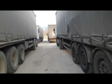 Backing truck trailer reverse ALGERIA 2