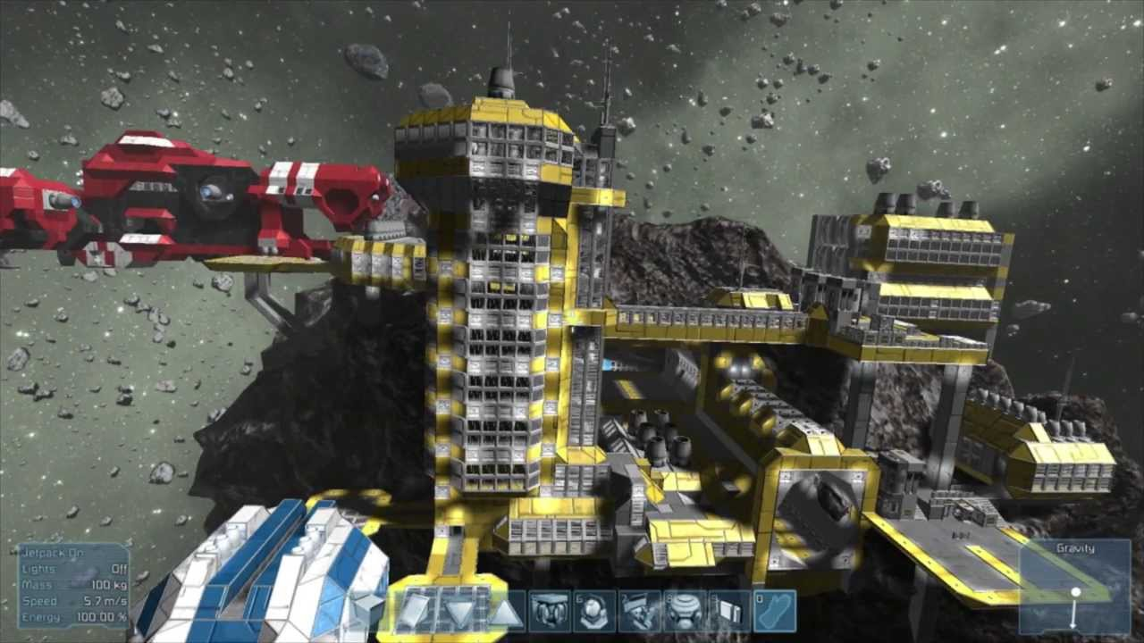 Space Engineers, Top 10 Player Creations so far - YouTube