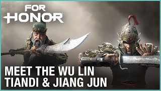 For Honor: Marching Fire - Meet the Wu Lin: Jiang Jun & Tiandi | Livestream | Ubisoft [NA]