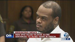 Maxwell Brack sentenced 70-100 years in prison in murder of Kajavia Globe
