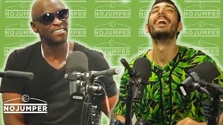 Ice Poseidon and EBZ get REAL live on No Jumper