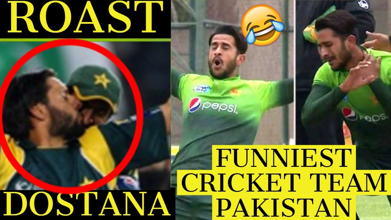 PAKISTAN CRICKET TEAM ROAST | Funniest cricket team pakistan | Tanay