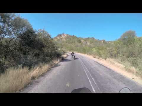 Zimbabwe Gravel Travel Adventure Trip. Birchenough Bridge to Chipinge. KTM 990 Adventure.