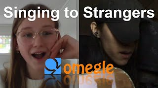 Singing to Strangers on Omegle - Save Your Tears, Blinding Lights by The Weeknd