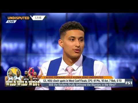 Lakers Forward Kyle Kuzma Joins Undisputed 5.9.18