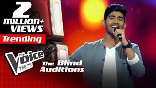 Shemil Clinson | En Jeevan | Blind Auditions | The Voice Teens Sri Lanka