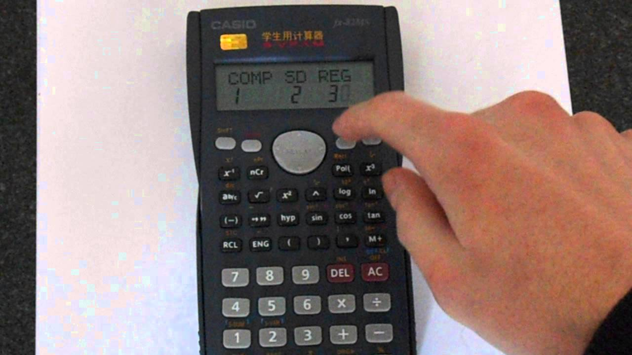 How to put a degree symbol images symbol and sign ideas casio fx 82ms degrees radians and gradians youtube buycottarizona buycottarizona Gallery
