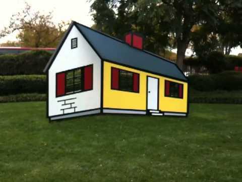 Roy Lichtenstein, House I - YouTube