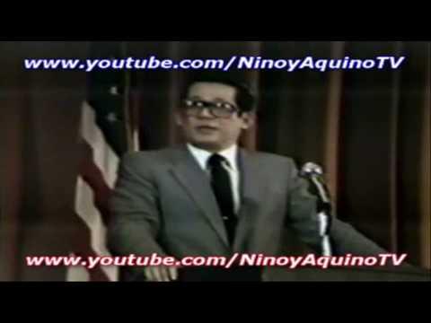 NINOY AQUINO's memorable speech (3/9) in Los Angeles (2-15-1981)