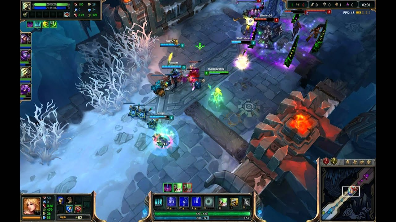 League Of Legends Games