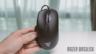 Razer Basilisk Chroma, Gaming Mouse, Wired, Optical, Black